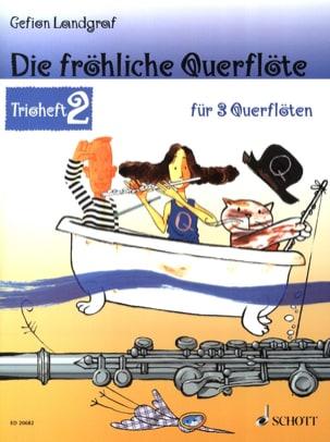 Die Fröhliche Querflöte Trio Heft 2 Partition laflutedepan