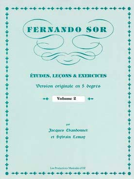 Fernando Sor - Studies, Lessons - Exercises Vol. 2 - Sheet Music - di-arezzo.com