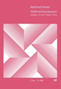 Reinhard Keiser - Oratorio de Noël - Partition - di-arezzo.fr