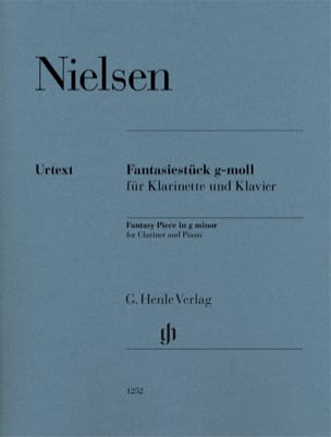 Carl Nielsen - Fantasiestück in G minor - Clarinet and piano - Sheet Music - di-arezzo.co.uk