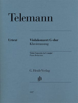 TELEMANN - Viola Concerto in G Major - Viola and Piano - Sheet Music - di-arezzo.com