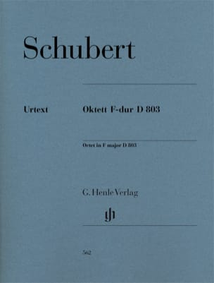 SCHUBERT - Octet in F Major D. 803 Op. Posth 166) - Parts - Sheet Music - di-arezzo.co.uk