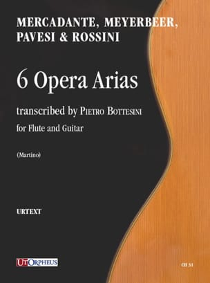 - 6 Opera Arias - Sheet Music - di-arezzo.com