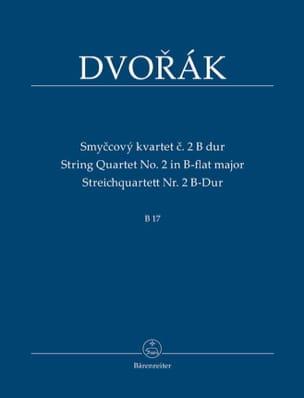 Antonin Dvorak - Quatuor à Cordes n° 2 en Sib Majeur - Conducteur - Partition - di-arezzo.fr