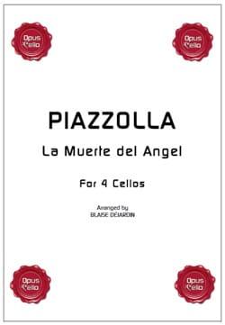 Astor Piazzolla - The Muerte del Angel - 4 cellos - Sheet Music - di-arezzo.com