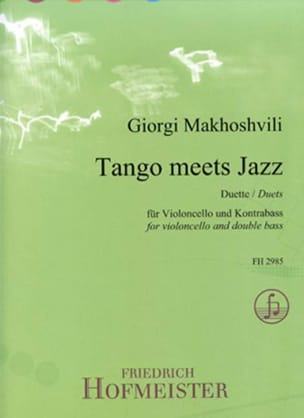 Girogi Makhoshvili - Tango meets Jazz - Cello and Double Bass - Sheet Music - di-arezzo.com