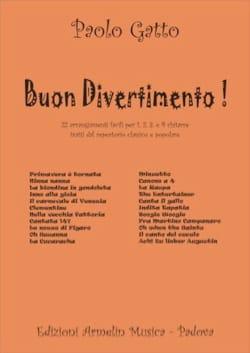 Buon Divertimento ! - Partition - Guitare - laflutedepan.com