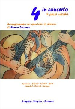 - 4 in Concerto - 9 pezzi celebri - Partition - di-arezzo.fr