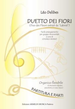 Leo Delibes - Duo des Fleurs (extrait de Lakmé) - Partition - di-arezzo.fr