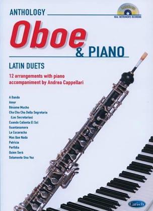 Cappellari Andrea - Latin Duets for Oboe and Piano - Partition - di-arezzo.fr