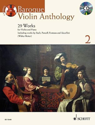 Baroque Violon Anthology 2 - Partition - di-arezzo.fr
