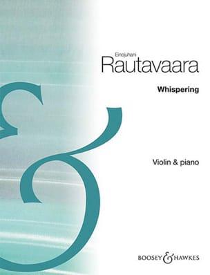 Whispering - Violon et piano Einojuhani Rautavaara laflutedepan