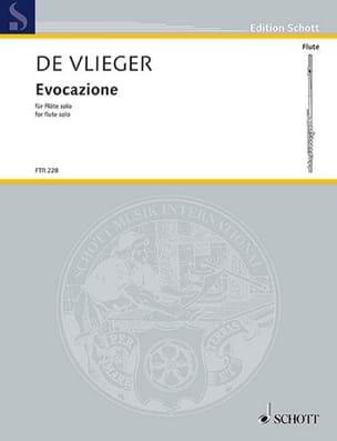 Evocazione - Flûte seule - Vlieger Henk De - laflutedepan.com