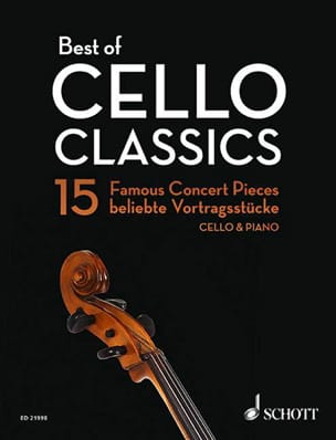 - Best of Cello Classics - Violoncelle et piano - Partition - di-arezzo.fr
