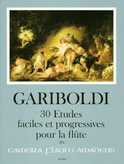 Giuseppe Gariboldi - 30 Easy and Progressive Studies - Flute - Sheet Music - di-arezzo.com