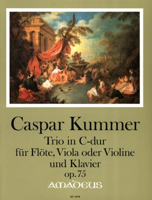 Gaspard Kummer - Trio, op. 75 - Flute, Viola or Violin and piano - Sheet Music - di-arezzo.com