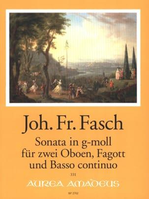 Sonate en sol mineur - 2 Hautbois, Basson et BC - laflutedepan.com