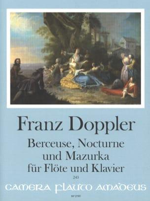 Berceuse, Nocturne et Mazurka - Flûte et piano laflutedepan