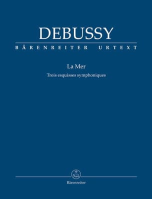DEBUSSY - The Sea - Pocket Driver - Sheet Music - di-arezzo.co.uk