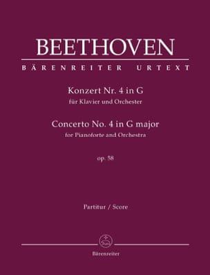 BEETHOVEN - Concierto para piano n.º 4 en sol mayor, op. 58 - Partitura - di-arezzo.es
