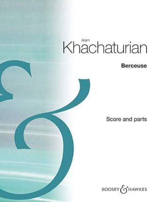 Aram Khatchaturian - Lullaby - Violin, Cello and Piano - Sheet Music - di-arezzo.co.uk