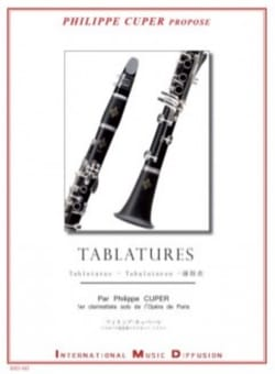 Philippe Cuper - Tablatures - Partition - di-arezzo.fr