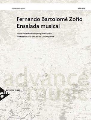 Fernando Bartolomé Zofio - Ensalada musical - Sheet Music - di-arezzo.com