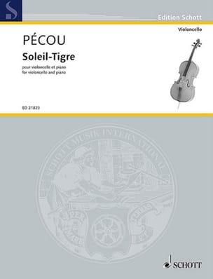 Soleil-Tigre - Thierry Pécou - Partition - laflutedepan.com
