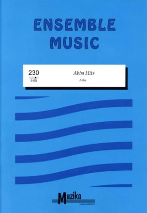 Abba Hits ABBA Partition ENSEMBLES - laflutedepan