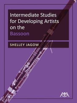 Shelley Jagow - Intermediate Studies for Developing Artists on the Bassoon - Sheet Music - di-arezzo.com