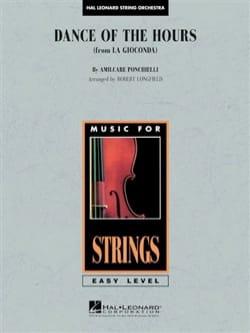 Amilcare Ponchielli - Dance of the Hours - Orchestre à Cordes - Partition - di-arezzo.fr