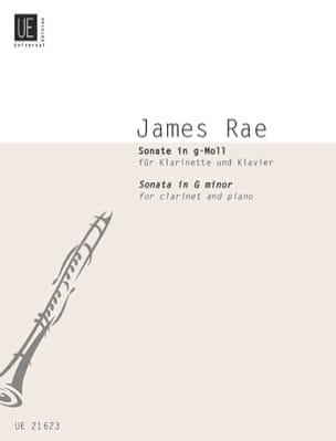 James Rae - Sonate en sol mineur - Clarinette et piano - Partition - di-arezzo.fr