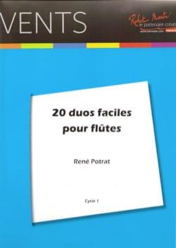 René Potrat - 20 Easy Duets for Flutes - Sheet Music - di-arezzo.com