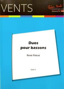 René Potrat - Duets for Bassoons - Sheet Music - di-arezzo.com