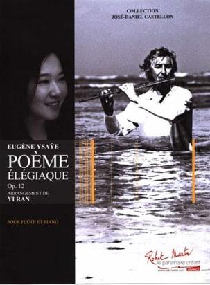 Poème élégiaque, opus 12 - Flûte et piano - laflutedepan.com