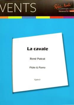 La cavale - Flûte et piano René Potrat Partition laflutedepan