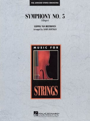 BEETHOVEN - Symphony N ° 5 Allegro - Sheet Music - di-arezzo.com