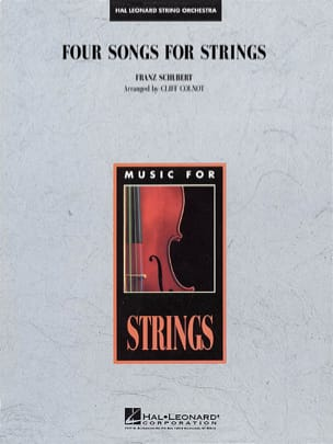 SCHUBERT - Four Songs for Strings - score - parts - Sheet Music - di-arezzo.com