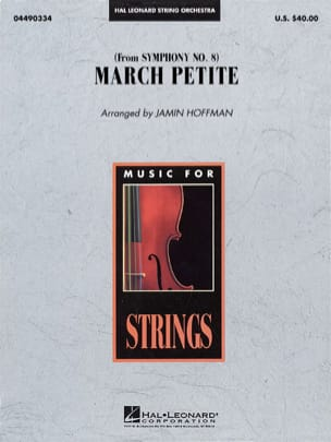 BEETHOVEN - March Petite from Symphony N ° 8 - score - parts - Sheet Music - di-arezzo.com