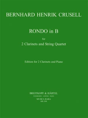 Bernhard Henrik Crusell - Rondo en Sib - Partition - di-arezzo.fr