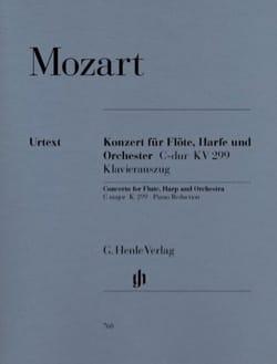 MOZART - Concierto en do mayor, Kv 299 - Flauta, arpa y piano - Partitura - di-arezzo.es