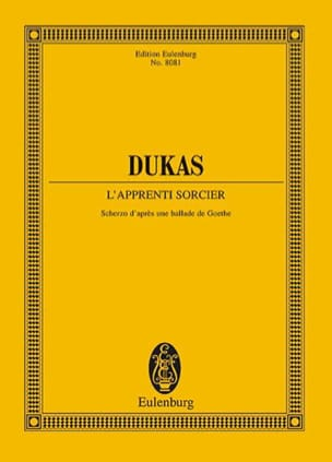l'Apprenti Sorcier - Conducteur DUKAS Partition laflutedepan