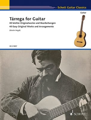 Francisco Tarrega - Tarrega for Guitar - Guitar - Sheet Music - di-arezzo.com