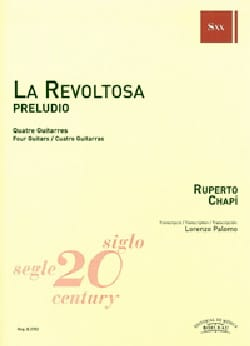 La Revoltosa - Preludio - 4 Guitares Ruperto Chapi laflutedepan