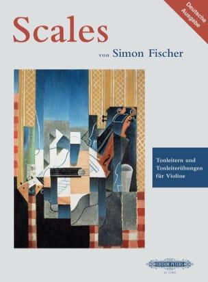 Simon Fischer - Tonleitern und Tonleiterübungen für Violine - Partition - di-arezzo.fr
