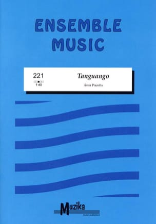 Astor Piazzolla - Tanguango - Sheet Music - di-arezzo.co.uk
