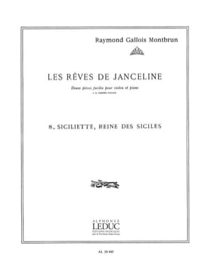 Raymond Gallois-Montbrun - Sicily queen of the Sicilies - Partition - di-arezzo.com