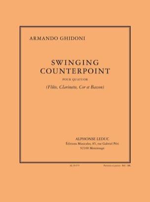 Armando Ghidoni - Swinging Counterpoint - Wind Quatuor - Sheet Music - di-arezzo.com