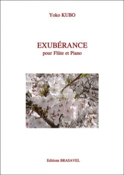 Yoko Kubo - Exubérance - Partition - di-arezzo.fr