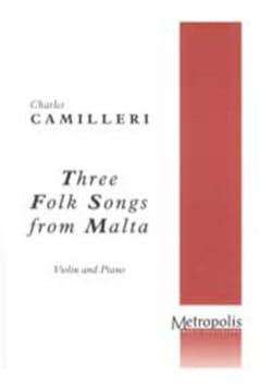 Three folk songs from Malta - Charles Camilleri - laflutedepan.com
